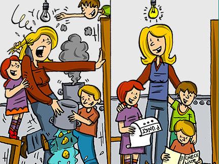 ElternSein: Stress oder Zufriedenheit?