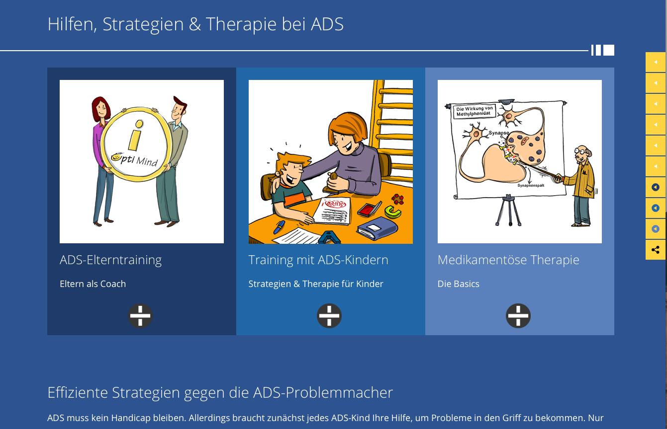 TH Bausteine zu Therapie bei ADS